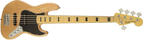 Squier By Fender Vintage Modified Jazz Bass V 5 String Electric Bass Guitar
