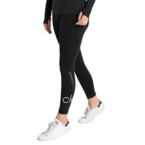 Calvin Klein 2020 Energy Damen-Leggings, atmungsaktiv, feuchtigkeitstransportierend, Baselayer Gr. S, Schwarz