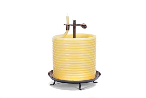 Candle by the Hour 20561B 144-Hour Candle, Eco-friendly Natural Beeswax with Cotton Wick