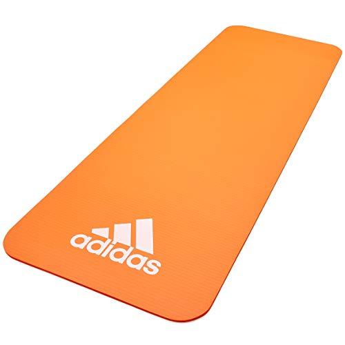adidas, Fitness Mat-10mm-Orange Unisex-Adult, Arancione