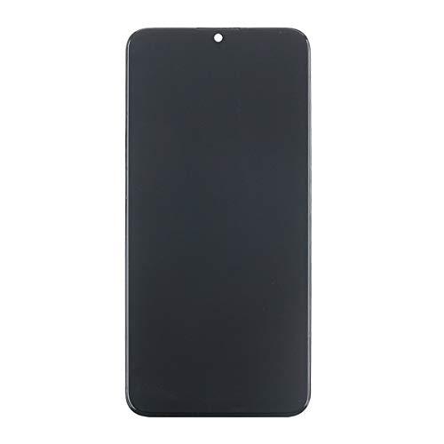 RongZy Pantalla LCD compatible con AMOLED Samsung Galaxy A71 A715 Pantalla LCD de repuesto y digitalizador de pantalla táctil con herramientas (soporte de huellas dactilares)