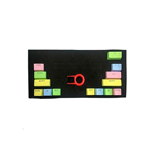 PBT-Regenbogen-Hintergrundbeleuchtung 14 Tasten Geben Sie Umschalt Strg Replacement Mechanische Tastatur Keycap Für Mechanische Tastatur OEM Profil