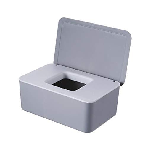 WWWL Caja de Pañuelos Tenedor de Tejido de Madera Caja de Almacenamiento de Toalla de Papel para el hogar Funda de Tejido extraíble (Color : B 19x12x7.5cm)