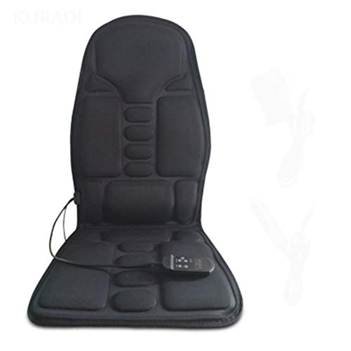 Vibration Massage Cushion Electric Mulifunction Heated Car Office Seat Chair Mattress Lumbar Back Neck Pad Relaxation