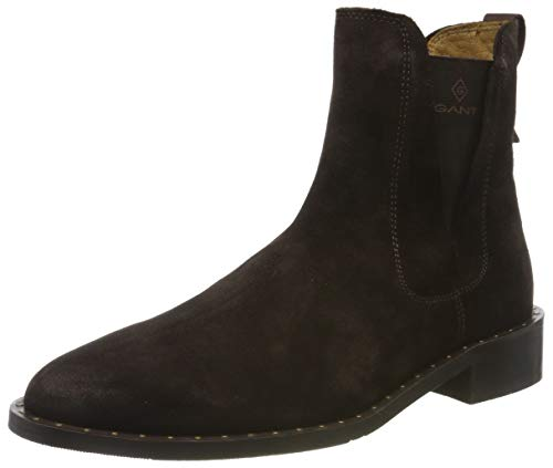 GANT Footwear Damen Hampton Chelsea Boots, Braun (Dark Brown G46), 40 EU
