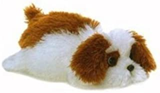 Murphy the Brown and White Stuffed Dog by Aurora