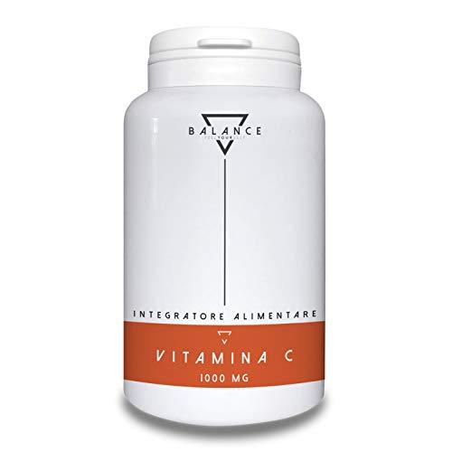 VITAMINA C - BALANCE | Vitamina C 1000mg ad Alto Dosaggio | Integratore alimentare di Vitamina C PURA (acido ascorbico) | 120 compresse