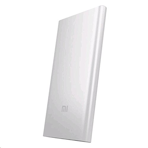 Xiaomi Mi - Power Bank de 5000 mAh (batería Premium de polímero Litio-Ion, Carcasa Super Delgada de 9.9 mm) Color Plata