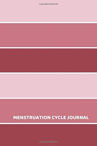 Menstruation Cycle Journal: Monthly Menstrual Cycle Assessment Logbook Journal, Tracking Fertile Period, Diet Monitor, Food & Lifestyle Control, ... with 110 Pages. (Menstrual Tracker, Band 13)