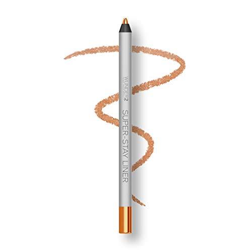 WUNDER2 SUPER-STAY LINER Makeup Eyeliner, Lidstrich wasserfest, lang haftend, Farbton Metallic Peach