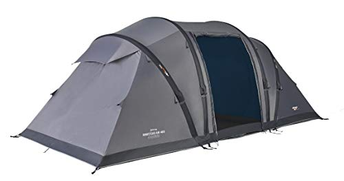 Vango TEPRINGSTV36173 Ringstead Air Aufblasbares Zelt, Grau (Vivid Grey), 400
