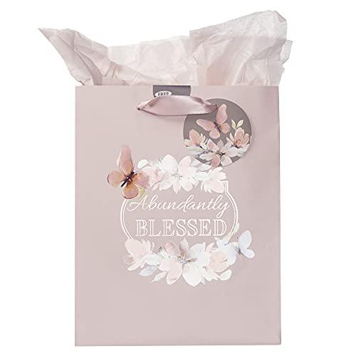 Abundantly Blessed Medium Gift Bag - Deuteronomy 7:13