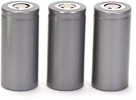 Rechargeable Batteries 32650 Battery 3.2V 6500Mah Lifepo4 Rechargeable Battery 32650 32700 Li-Po Battery for Solar Panel Outdoor Garden Light Power 4Pcs