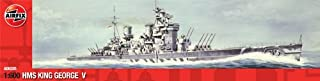 Airfix A06205 HMS King George V Model Building Kit, 1:600 Scale