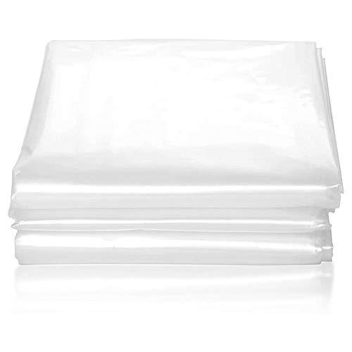 BEDDING - Funda de plástico para colchones para Cualquier Grosor/y hasta 230cm Largo/400 Gramos - Bolsa 185x230cm
