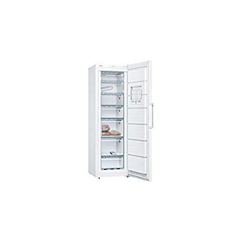 Bosch GSV29VWEV Congélateur vertical pose-libre Série 4, 249 litres, 5 tiroirs de congélation, 186 x 60 cm, Blanc