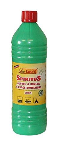 Favorit Spiritus Brennspiritus 6 x 1 Liter Flasche