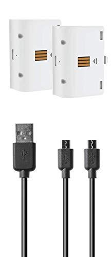 snakebyte Twin Charge X - laadschaal voor XBOX One Controller incl. 2-voudige accupack met elk 800 mAh