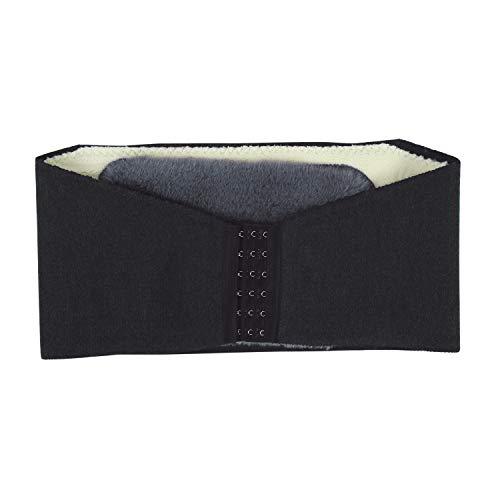 Rückenwärmer Damen Herren Nierenwärmer Plüschfutter Nierengurt Verstellbarer Wärmegürtel Elastischer Rückengurt Bauchgürtel 360 Grad Nierenschutz Plüsch Thermo Gurt für Kälteschutz Schmerzlinderung
