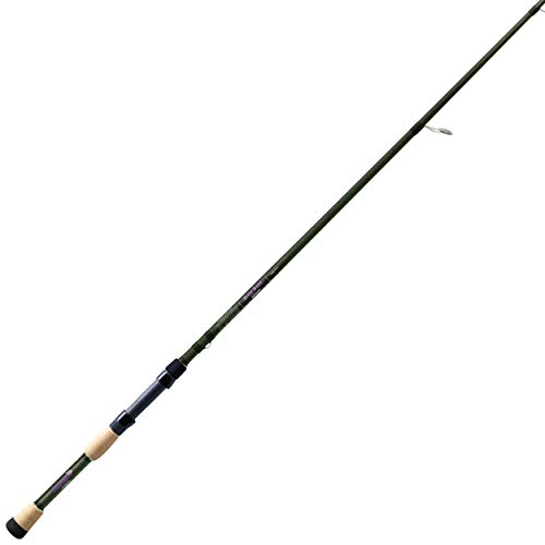 St. Croix MGS72MM Mojo Bass Glass Spinning Fishing Rod with IPC Technology, 7-feet 2-inches, Mojo Green Metallic