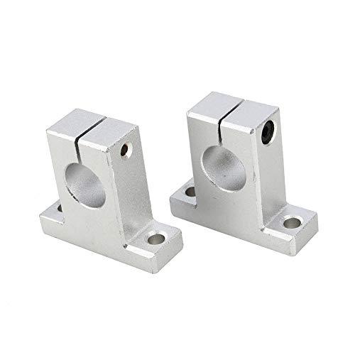 Optical Sliding Rail, 2pcs Linear Motion Rail Aluminum Alloy