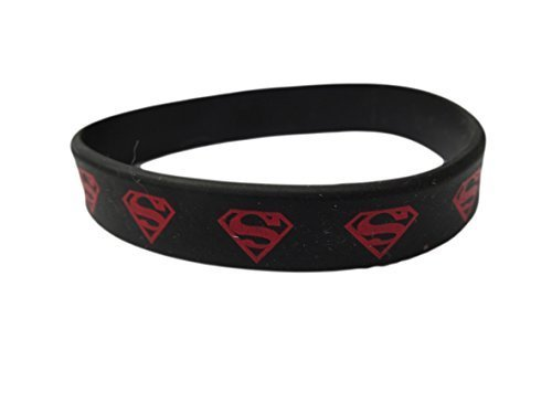 Fat-Catz-Copy-Catz Bracciale in gomma Superman D.C Comics silicone