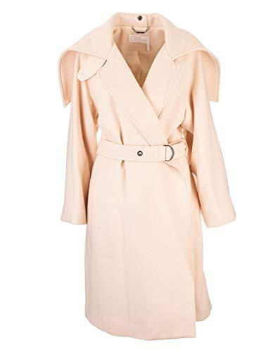 Chloé Luxury Fashion Damen CHC19AMA0607224T Beige Wolle Mantel | Herbst Winter 19