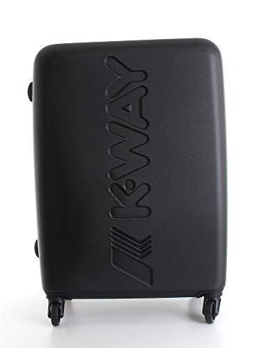 Trolley Rigido 64cm 4 Ruote Medio   K-Way   8AKK1G020A2-Black