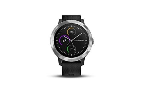 Garmin vívoactive 3 GPS Smartwatch - Black & Stainless