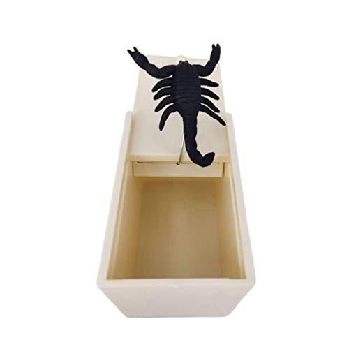 Accessori for la casa giocattolo Prank Prank 2pcs Scare Box divertente realistica Spider mouse Prank giocattoli ingannevoli Props Giocattoli Scherzi del partito del partito di Pasqua zcaqtajro