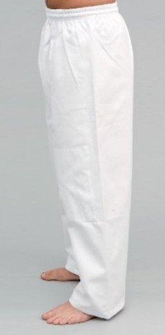S.B.J - Sportland Baumwollhose/Kampfsporthose/Judohose mit Knieverstärkung weiß, 170 cm