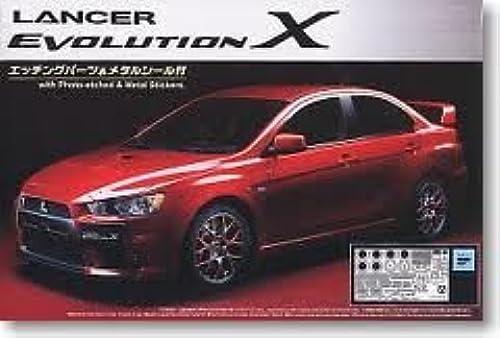 1 24 Das Best Car GT No.60 Lancer Evolution X mit  en