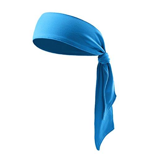 Fascia per capelli unisex Dry-Fit, per tennis, unisex, per corsa, crossfit, allenamento, karate, atletica e domina la tua competizione, elasticizzata e traspirante, Bambino, Scarpette a strappo