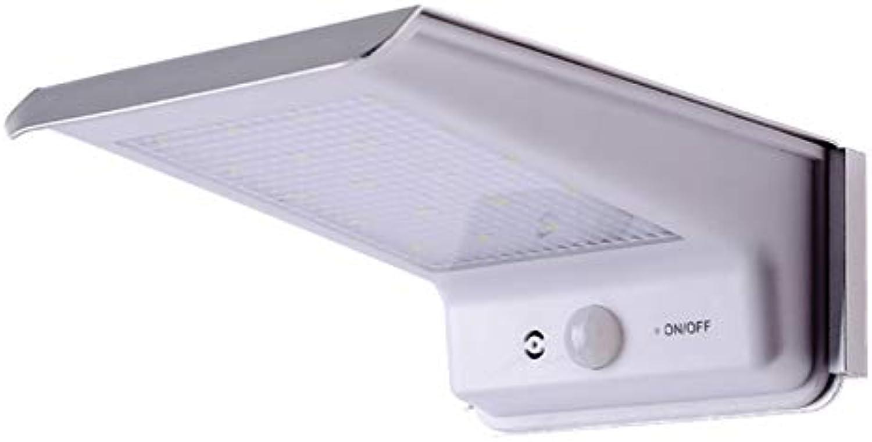 CZZ Solarlicht Wasserdichte LED Menschlichen Krper Induktion Wand Lampe Outdoor Sound Kontrolle Garten Wand Lampe Lndlichen Beleuchtung Straenlaterne,EIN,Licht