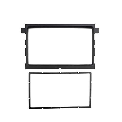 HIGHER MEN Car Accessories Parts Doble DIN Panel estéreo for Ford Fusion Fascia Negro Color de Radio Reposición Tablero de instalación de Montaje Kit de Acabado de la Cara