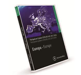 GTV INVESTMENT MB Navigation DVD Comand APS Europe 2017/2018 A2118270701 NEUES ORIGINAL