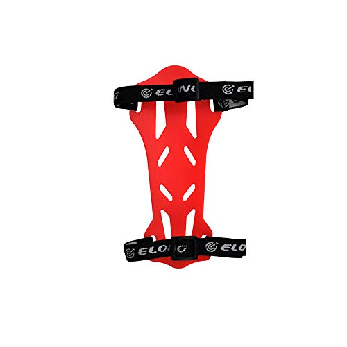 Yls Archery Arm Guard Arm Protector Youth Shooting Practice Guard Rubber Red