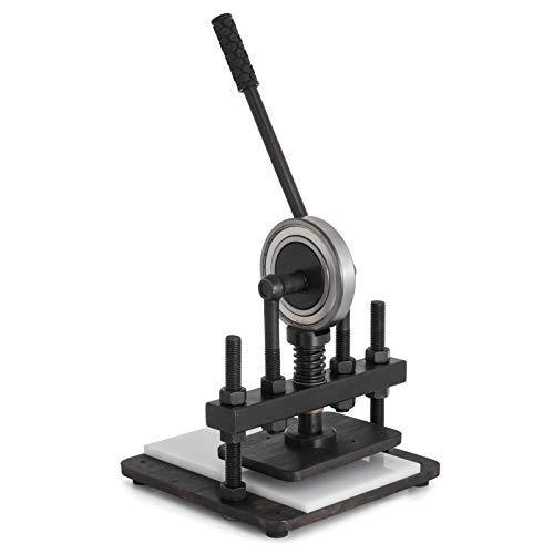 BananaB Press Maschine 200x140 mm Leder Druck Schwaz Prägemaschinen für Verschiedene Materialien (200x140mm)