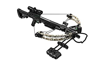CenterPoint AXCS185CK Sniper 370 Crossbow Package Camouflage
