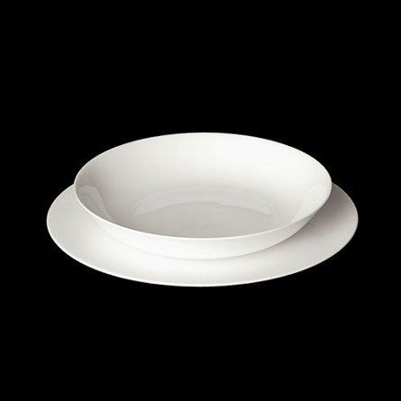 Dibbern Pure Gourmet-Teller Flach 31 cm Weiss