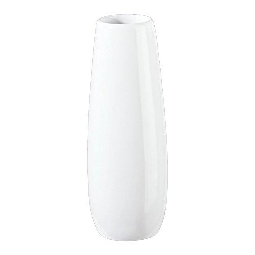 ASA Ease Vase, Steingut, weiß, 4,5cm