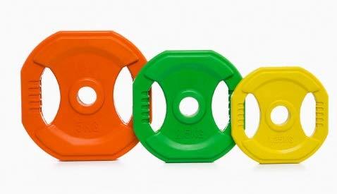 Grupo Contact - Discos de Body Pump de 2,5 kg (Venta por Unidades) Color Verde