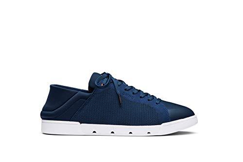 SWIMS The Tennis Easy Sneaker, Zapatillas Hombre, Azul Marino, 41 EU