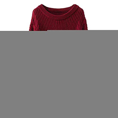 ZGRNPA Women Cable Knit Turtleneck Sweater Casual Thick Long Sleeve Tops Pullover Sweaters Women's Chunky Turtleneck Casual Knitted Jumper Pullover Long Sleeve Tops Ladies