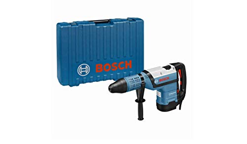 Bosch Professional Bohrhammer GBH 12-52 D (1.700 Watt, inkl. Zusatzhandgriff, Fetttube, Maschinentuch, im Handwerkerkoffer)