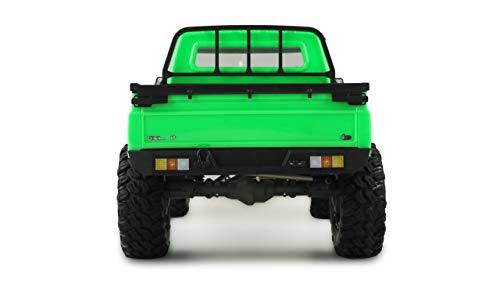 Amewi 22471 AMXRock RCX8P Scale Crawler Pick-Up 1:8, ferngesteuertes Fahrzeug, RTR, grün
