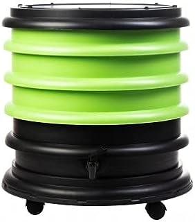 WormBox : Wurmkomposter Wurmfarm mit 4 Schalen Grün – 64 Liter