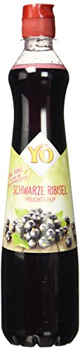 Yo Sirup Schwarze Ribisel, PET (1 x 700 ml)