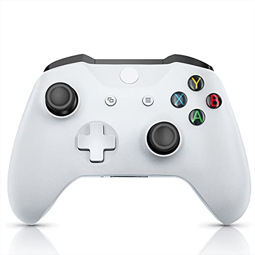 JORREP Xbox Wireless Controller for Xbox one, Xbox One S/X, Xbox Series X/S Consoles, PC Windows 7/8/10, Video Game Controller with Audio Jack - White