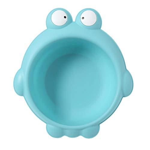 Baby Waschschale, Waschschüssel, Waschwanne, Seifenablage - Frosch blau